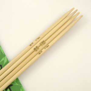 Knitting needles, 0.375cm x 25.5cm, 4 pieces, (LDZ033)